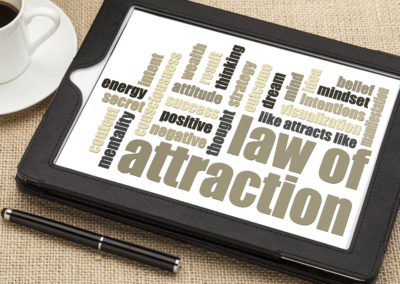 The Law of Attraction: <span class=
